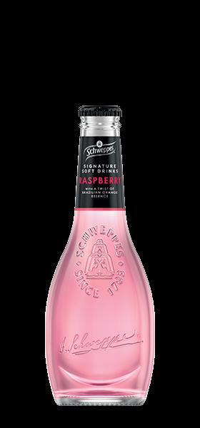 Raspberry with a twist of Brazilian orange essence